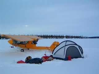 Challenger at Windy Lake, NWT