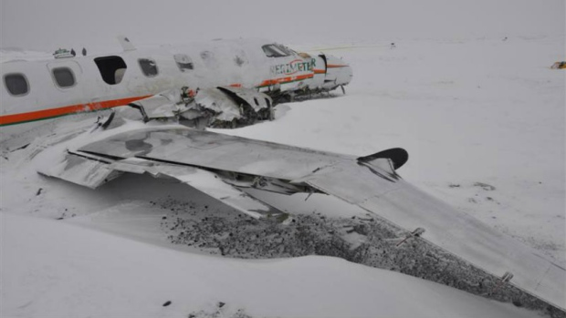 Sanikiluaq crash Dec 2012