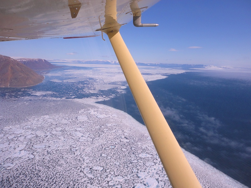 C-GEGG enroute to Grise Fiord, Nunavut