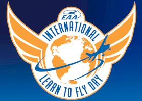International Learn to Fly Day logo
