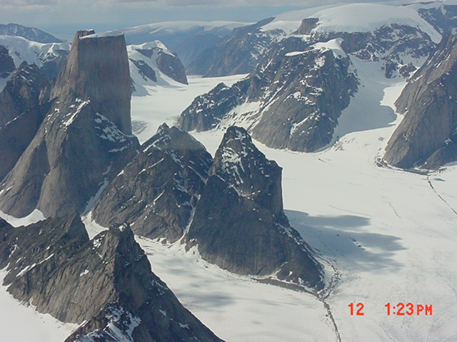 Mt Asgaard, Auyuittuq National Park