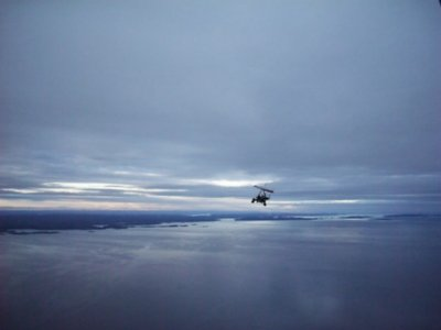 Millenium Microlight Expedition in the Arctic